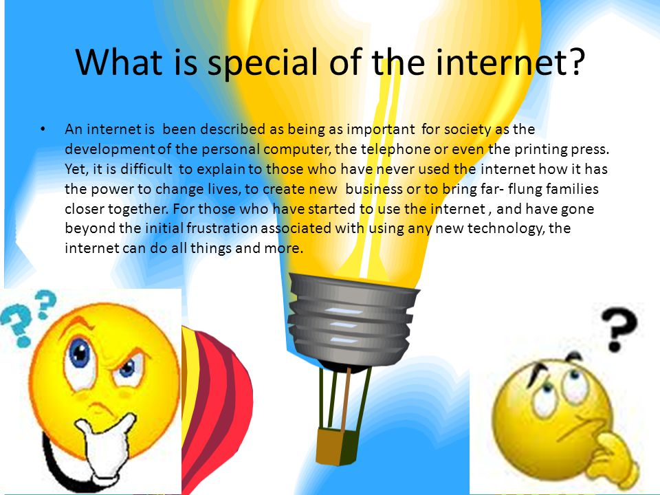 What is the difference between the internet and the world wide web.