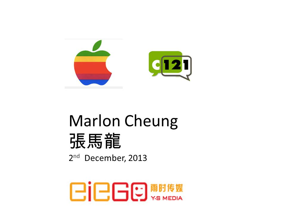 Marlon Cheung 2 nd December, 2013