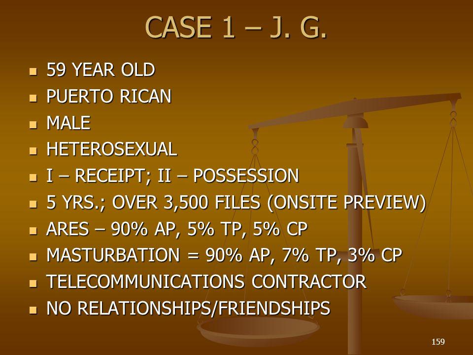 CASE 1 – J.G.