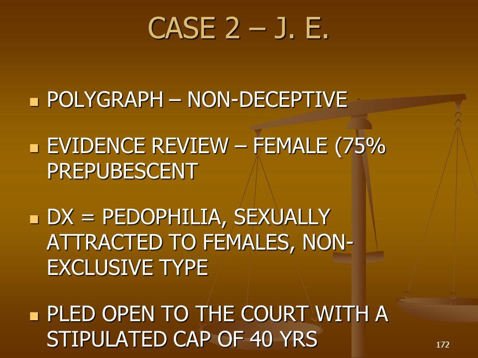 CASE 2 – J.E.