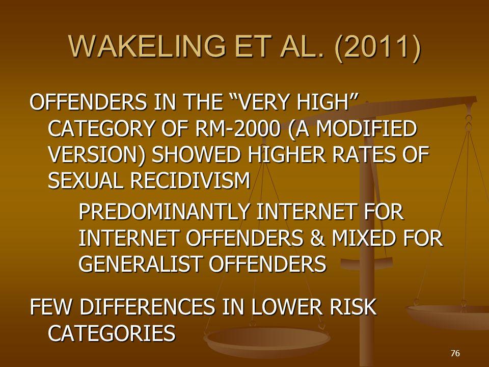 WAKELING ET AL.