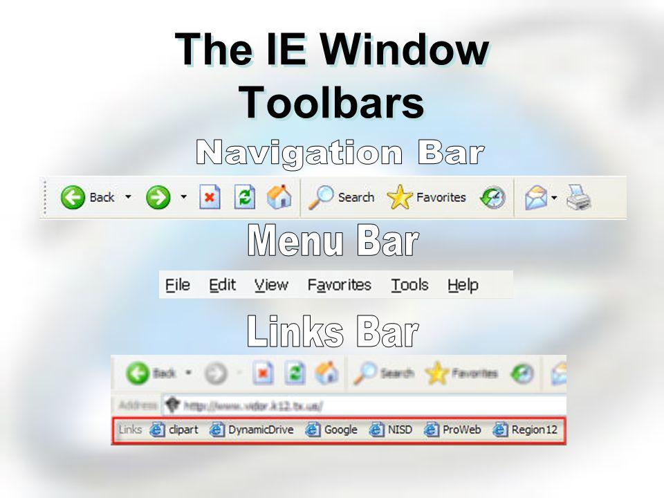 The IE Window