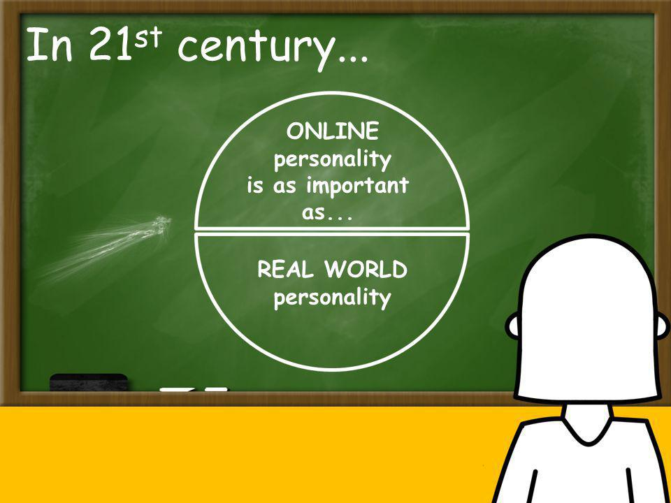Only an iMature student can have good online communication skills and good online personality