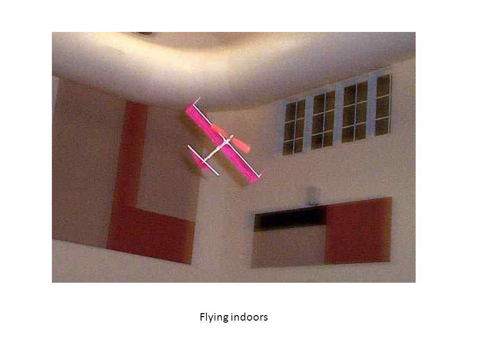 Flying indoors