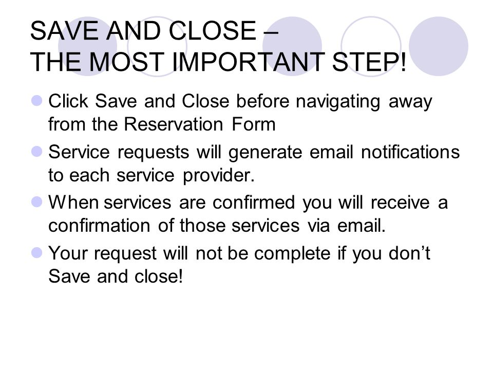 Parking Parking for special events or guests (Media, Regental or Presidential) can be reserved using the Parking tab.