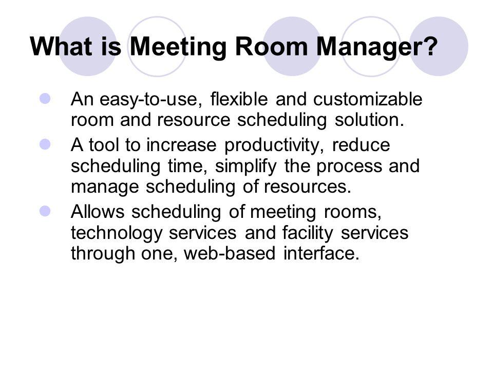Meeting Coordinator Responsibilities Arrange catering and request beverage service; Arrange parking off-site if necessary; Edit, create and display pr