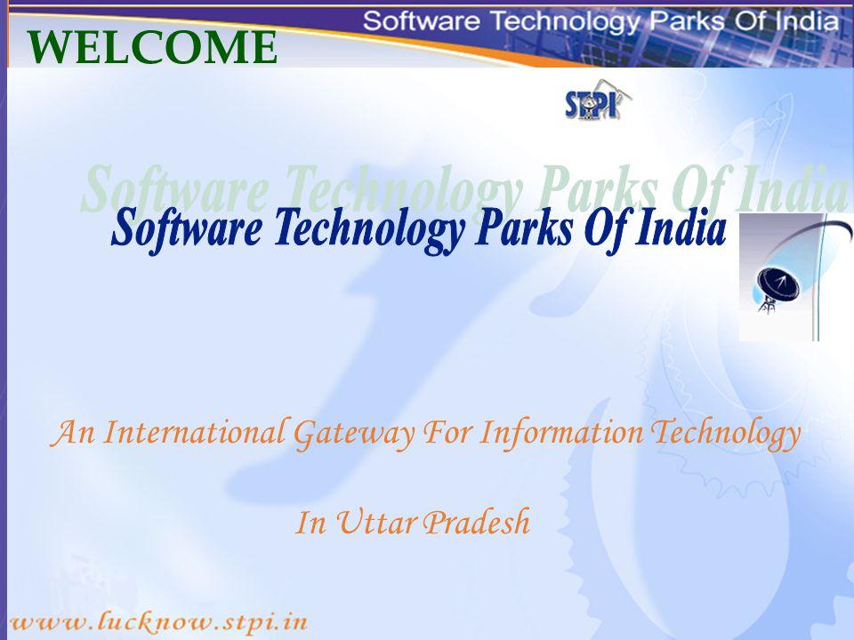 An International Gateway For Information Technology In Uttar Pradesh WELCOME
