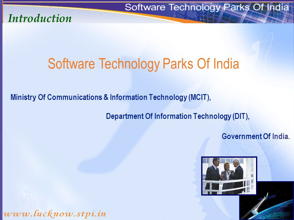 An International Gateway For Information Technology In Uttar Pradesh WELCOME