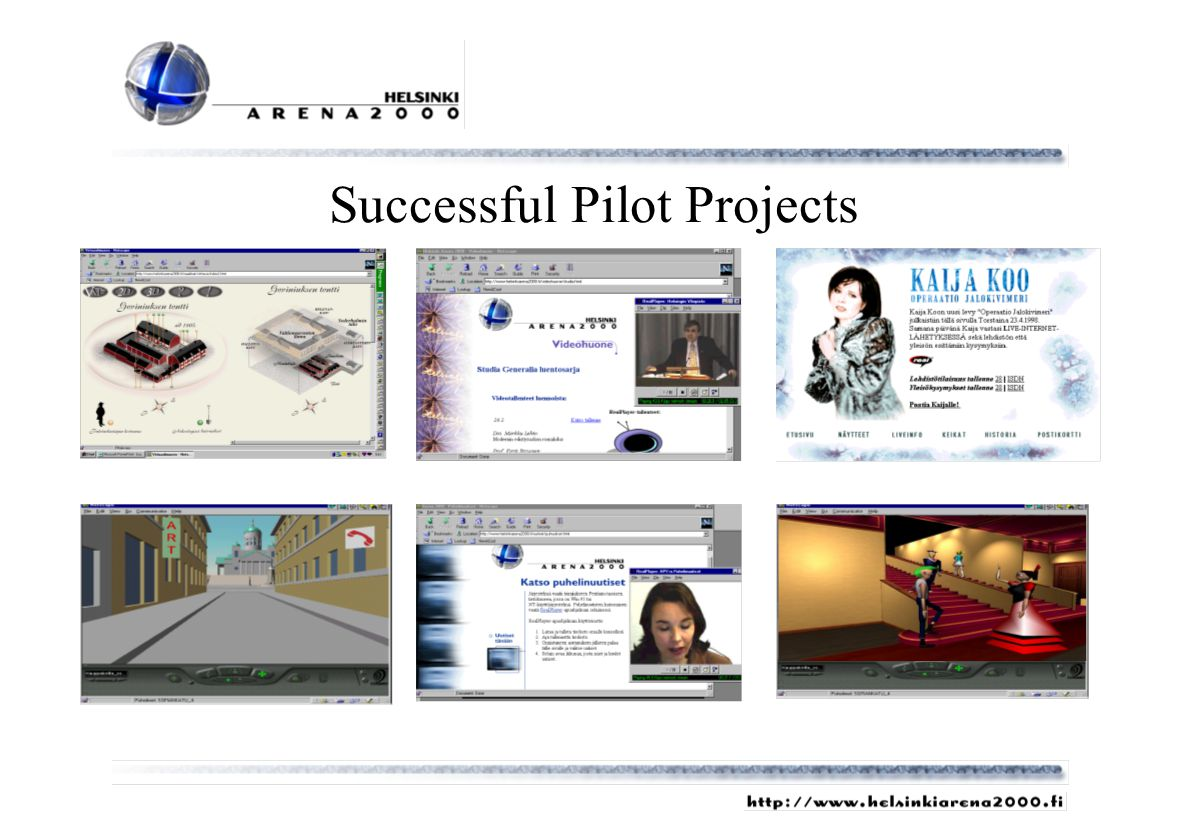 Successful Pilot Projects