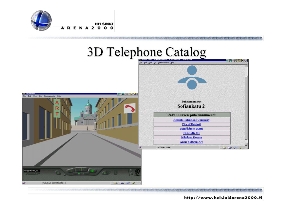 3D Telephone Catalog