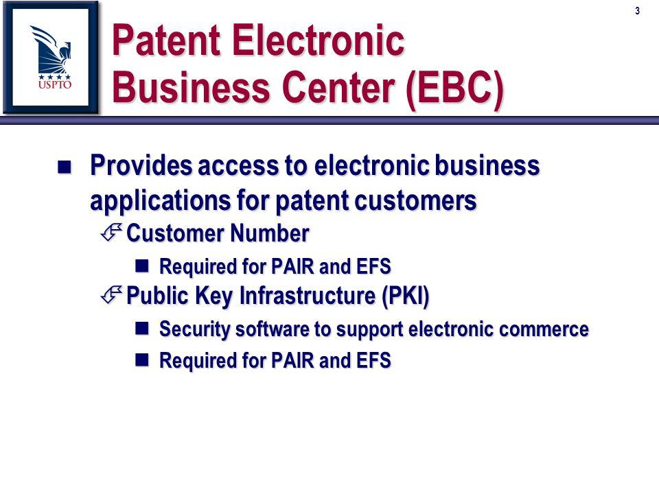 34 Future Electronic Services n n December 2001 É É Ability to file Provisionals É É Ability to file Multiple Assignments É É Improved network compatibility É É Ability to attach Appendix Data (e.g.