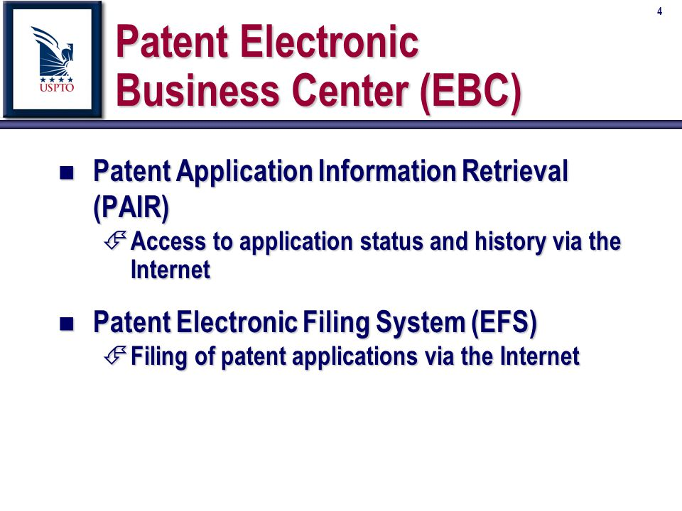 35 Future Electronic Services n n Early 2002 É É WIPO pilot of PCT e-filing n n Spring 2002 É É USPTO pilot for implementation of international application and e-filing protocol n n Fall 2002 É É Full implementation of international e-filing standards n n Author once, submit national and international É É PALM integration n n Electronic transactions for increased efficiency