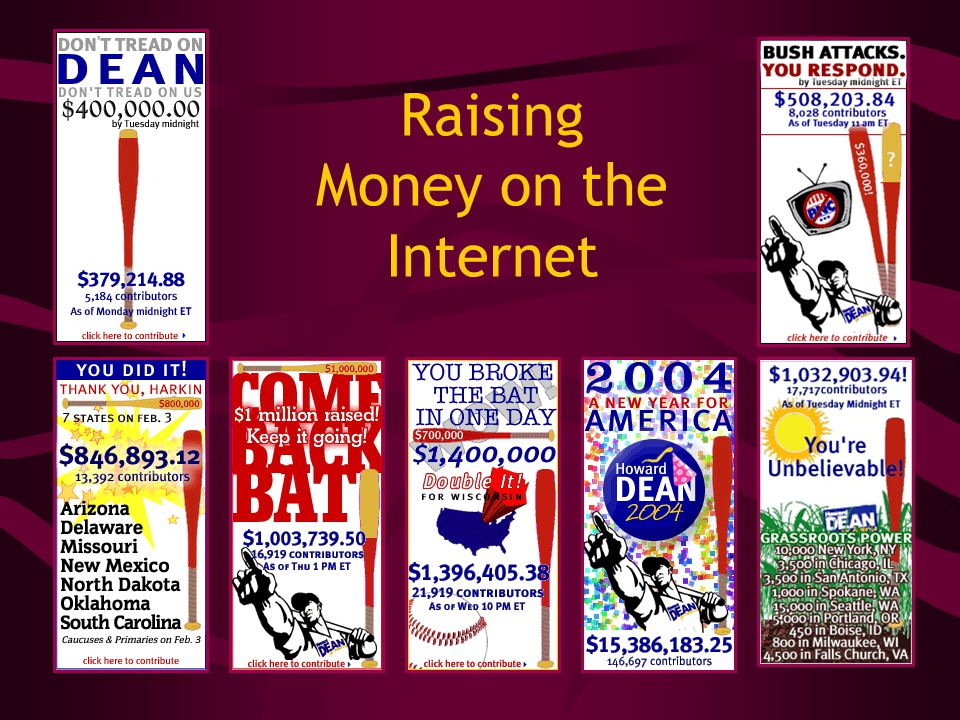 Raising Money on the Internet