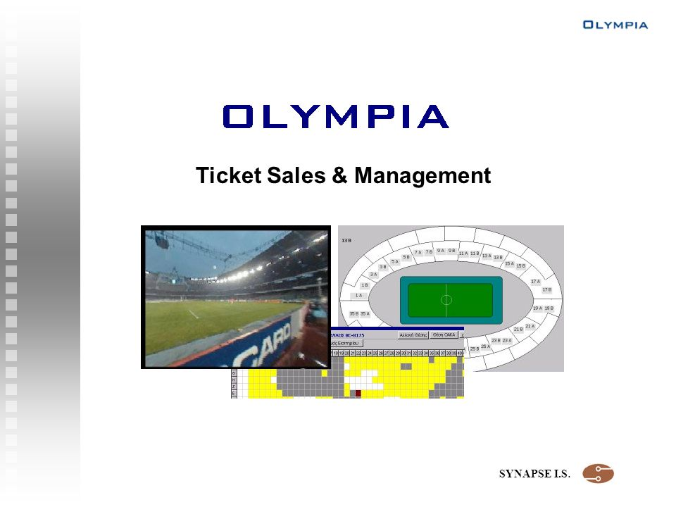 SYNAPSE I.S. Ticket Sales & Management