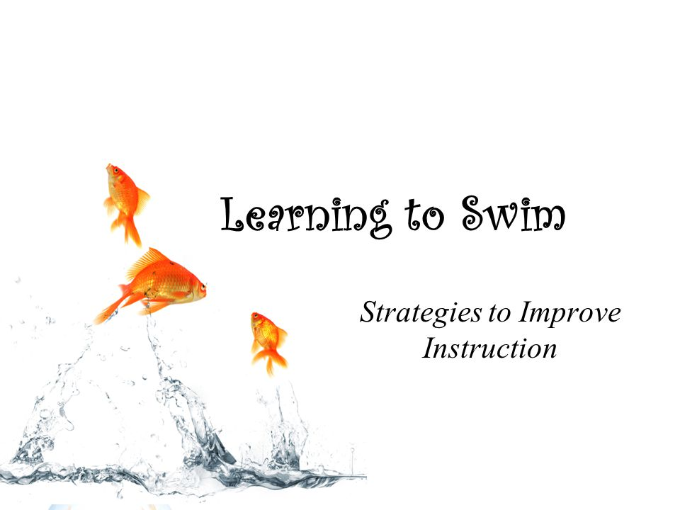 Learning to Swim Strategies to Improve Instruction