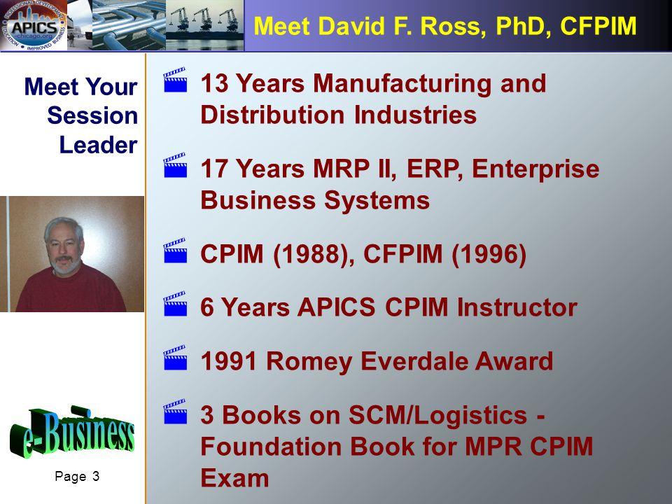 Page 3 Meet David F.