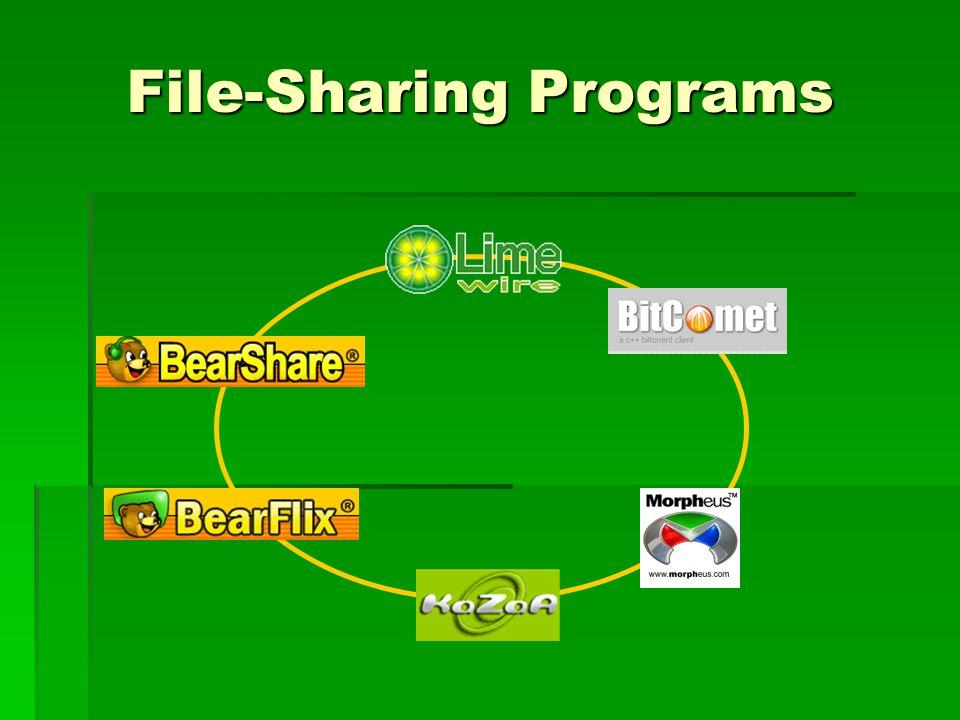 File-Sharing Programs