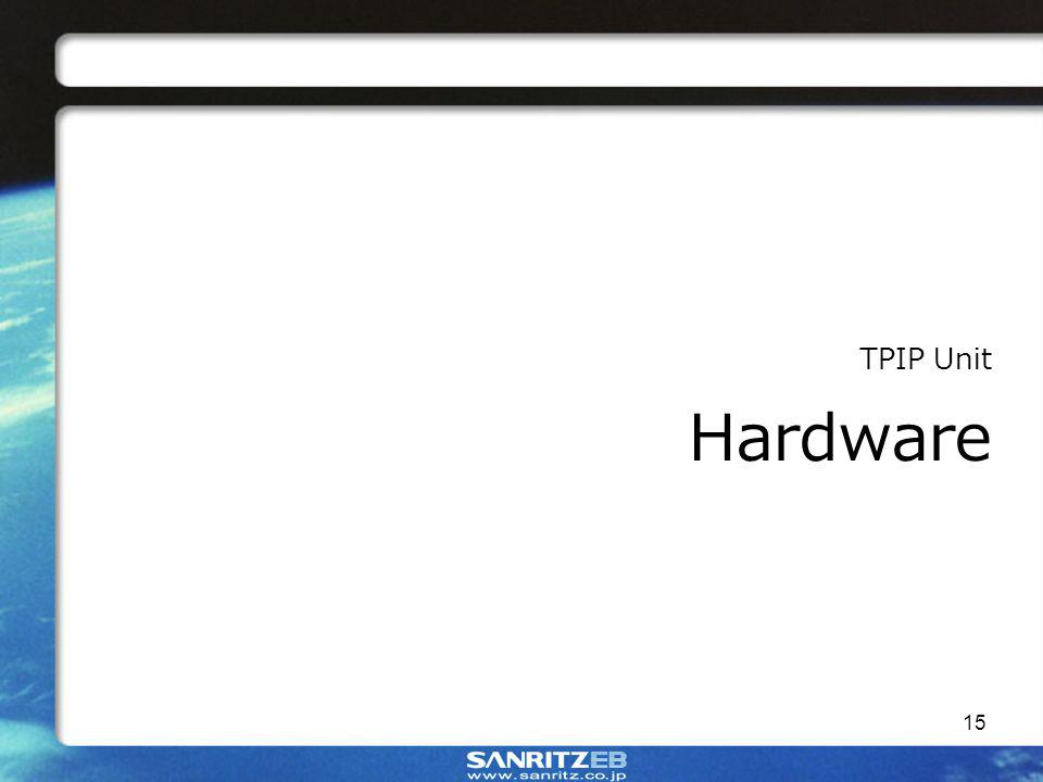 15 TPIP Unit Hardware
