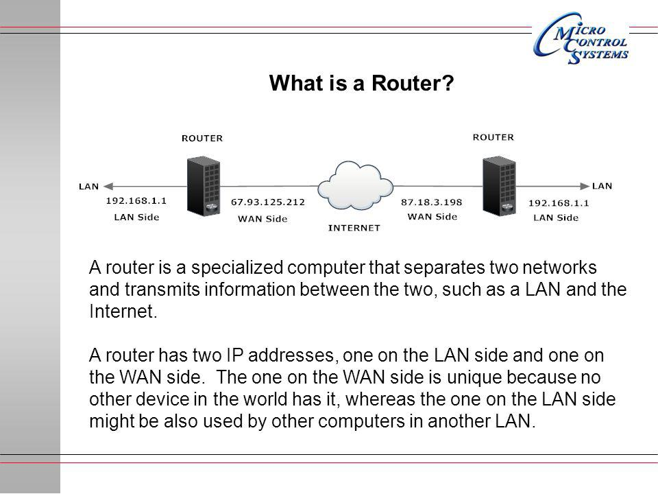 What is a Router.