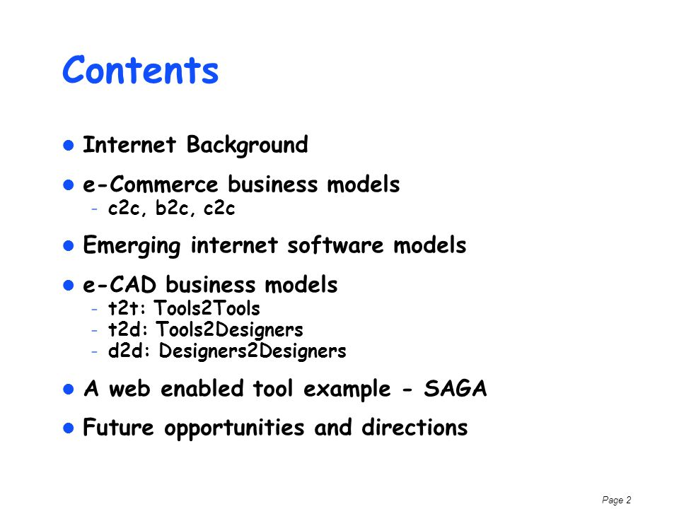 Page 3 Host Based Client/ Server Internet Changes the Computing Model Host Based Mid 60s - Mid 80sMid 80s - Mid 90s Long term Stability High cost infra, limited access High transaction costs Dist.