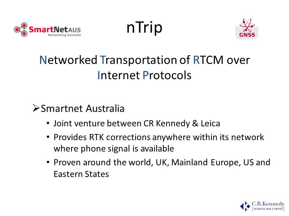 nTrip (N etworked T ransportation of R TCM over I nternet P rotocols ) nTrip Server