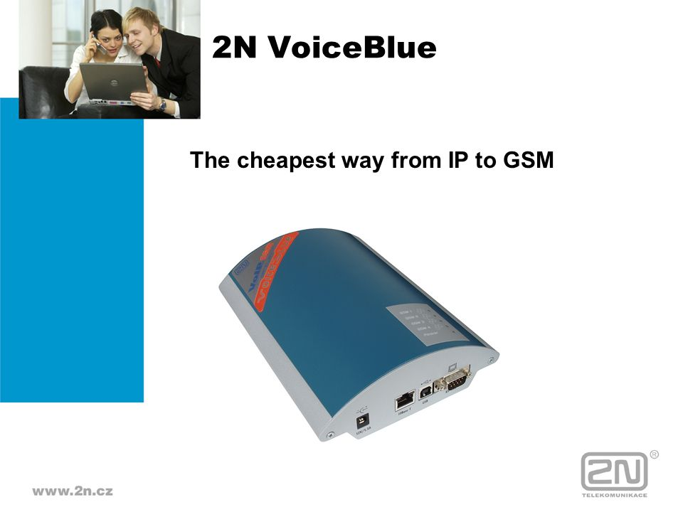 2N VoiceBlue The cheapest way from IP to GSM