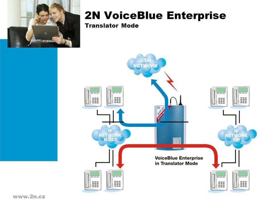 2N VoiceBlue Enterprise Translator Mode