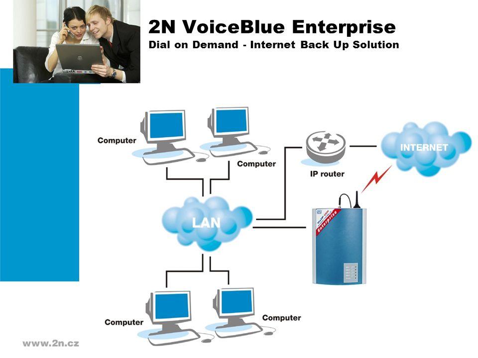 2N VoiceBlue Enterprise Dial on Demand - Internet Back Up Solution