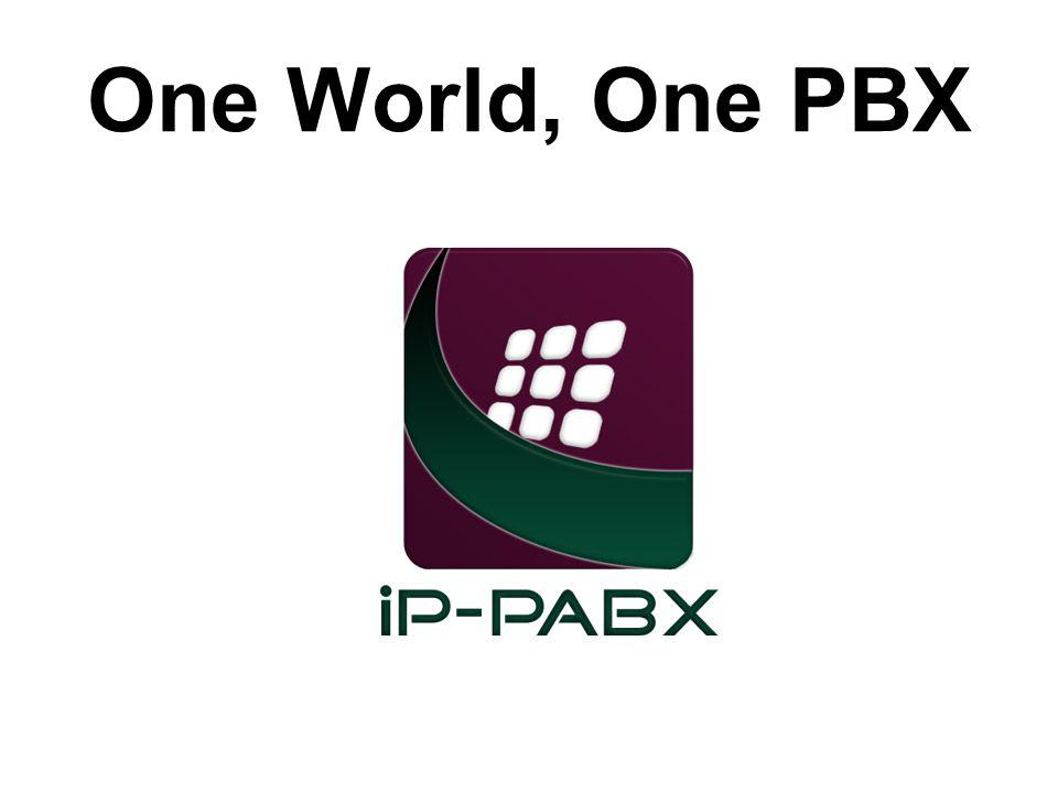 One World, One PBX