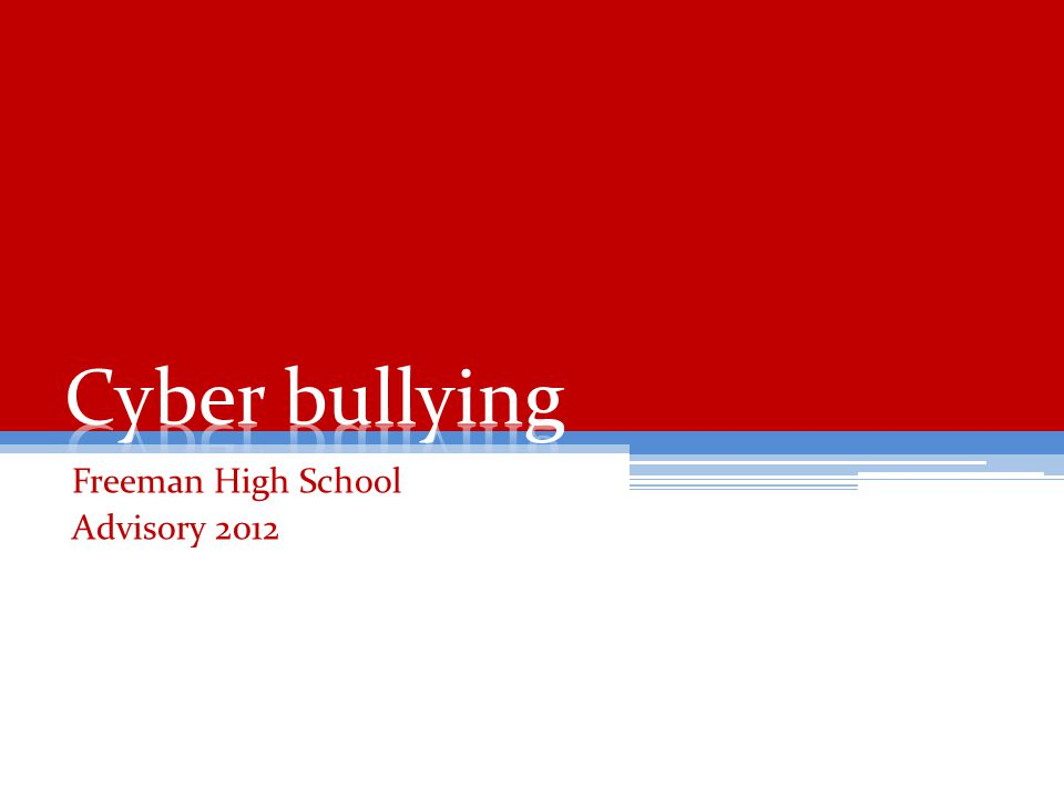 Freeman High School Advisory 2012