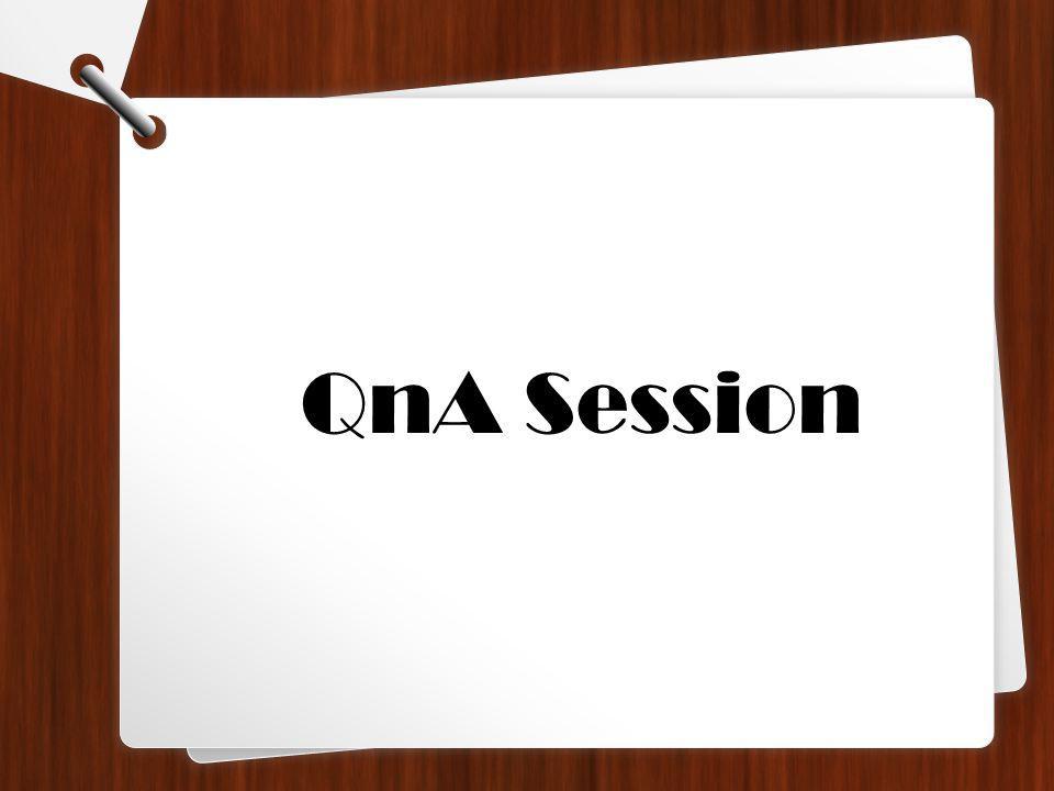 QnA Session