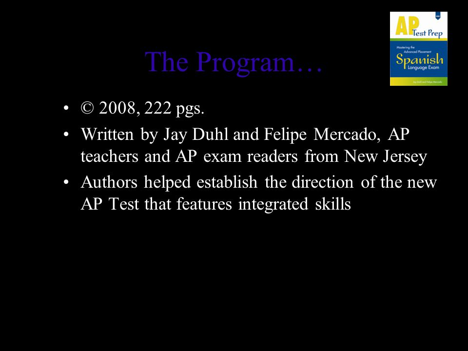 The Program… © 2008, 222 pgs.