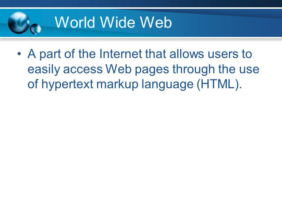 Web Server A special type of computer that delivers Web pages to a requesting browser.