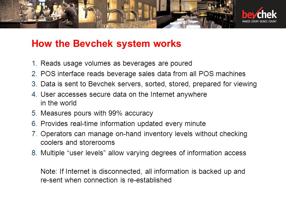 How the Bevchek System works