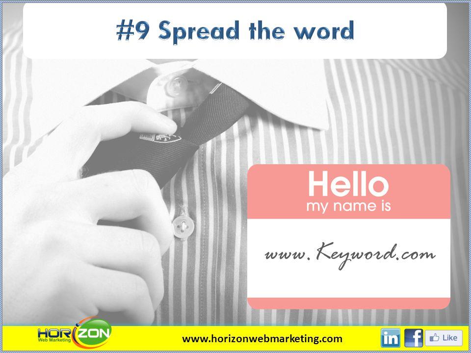 www.Keyword.com www.horizonwebmarketing.com