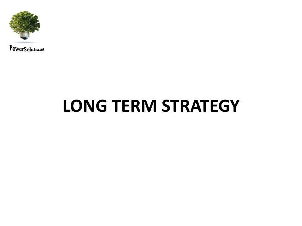 LONG TERM STRATEGY