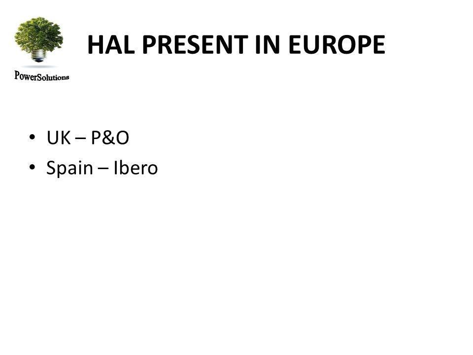 HAL PRESENT IN EUROPE UK – P&O Spain – Ibero