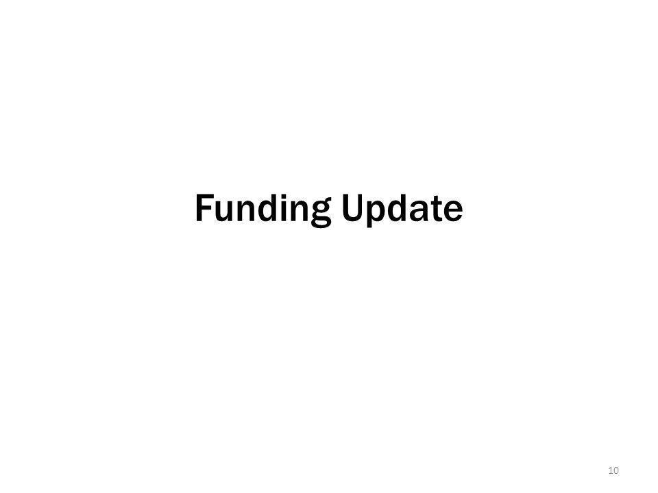 Funding Update 10