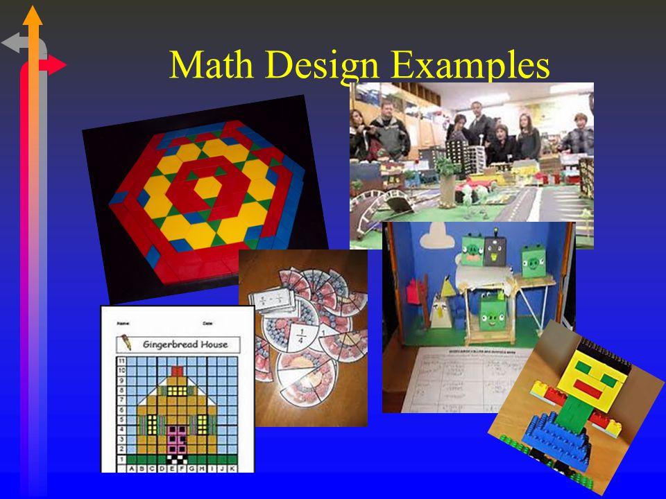 Math Design Examples