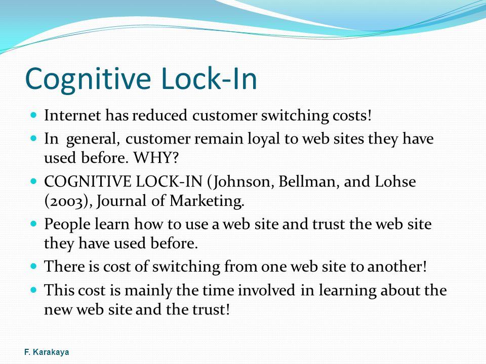 Cognitive Lock-In Expedia.com vs.
