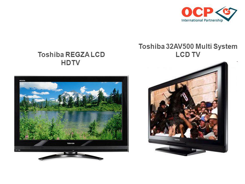 Toshiba REGZA LCD HDTV Toshiba 32AV500 Multi System LCD TV
