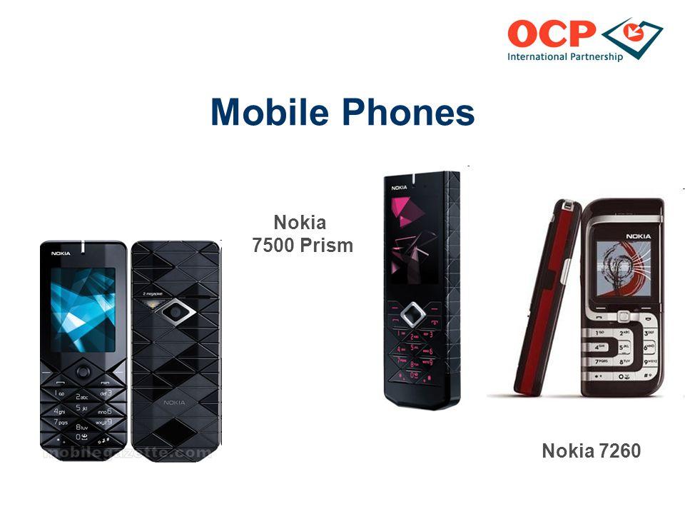 Mobile Phones Nokia 7500 Prism Nokia 7260