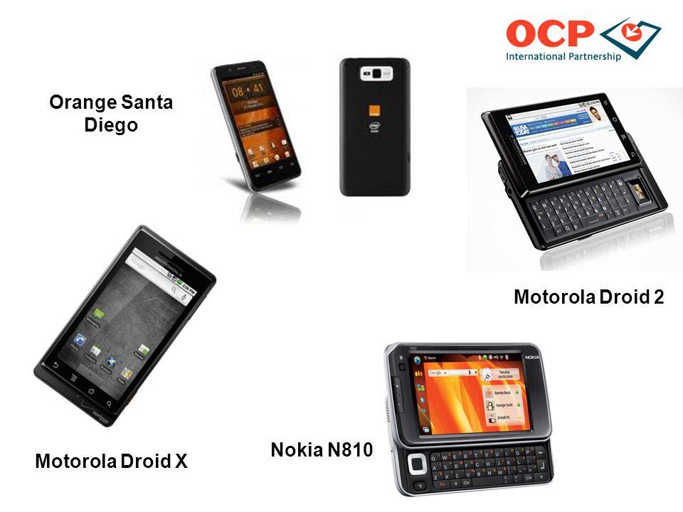 Motorola Droid X Nokia N810 Motorola Droid 2 Orange Santa Diego