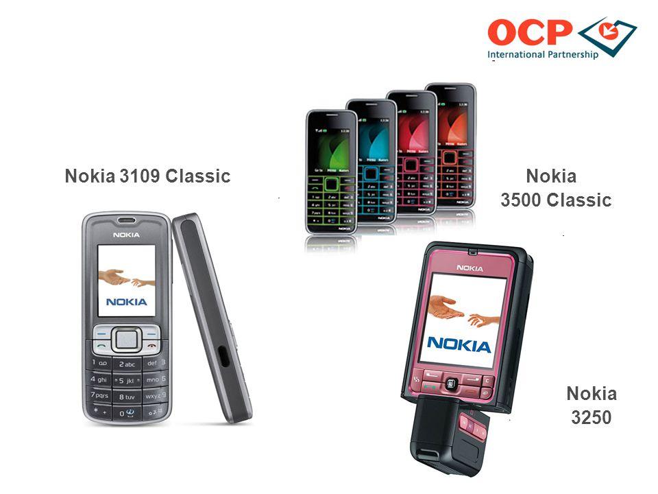 Nokia 3109 Classic Nokia 3500 Classic Nokia 3250