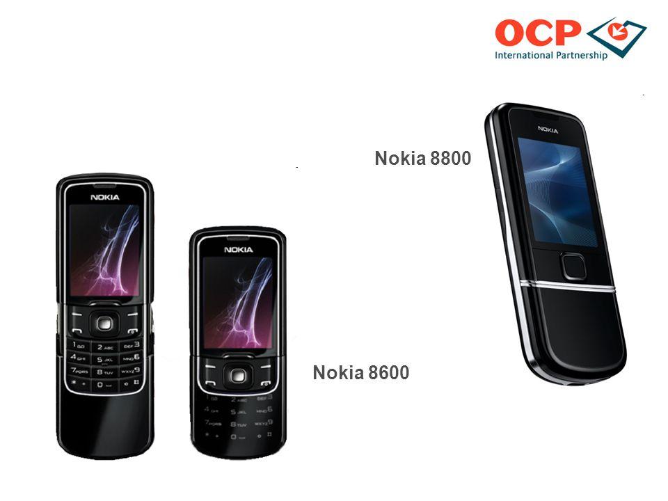 Nokia 8800 Nokia 8600