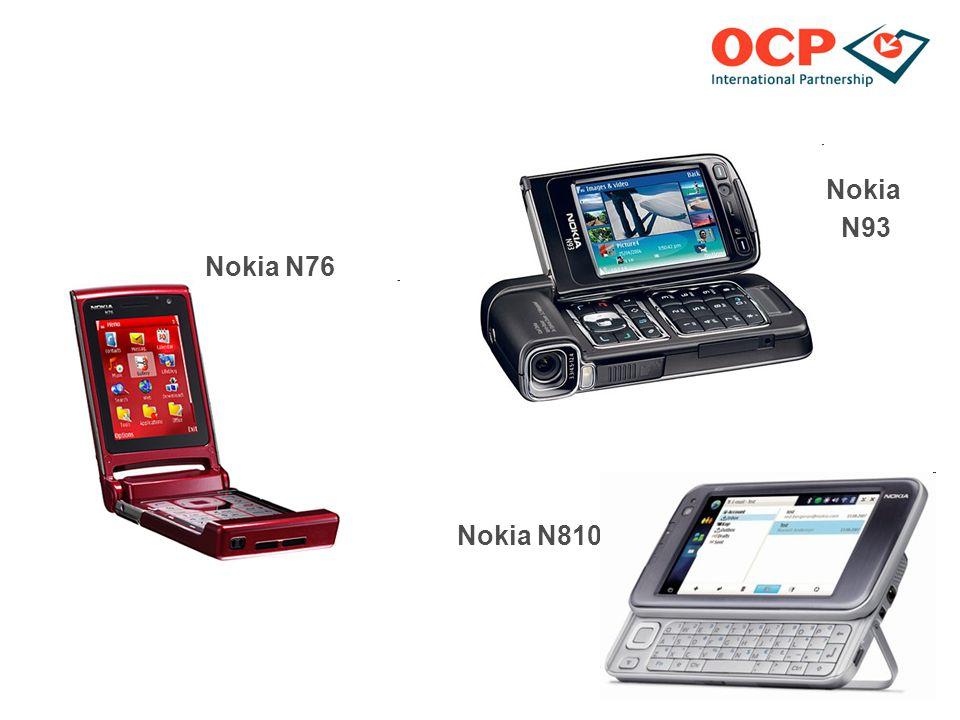 Nokia N93 Nokia N76 Nokia N810