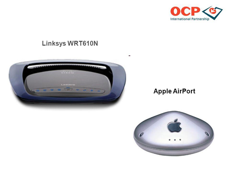 Linksys WRT610N Apple AirPort