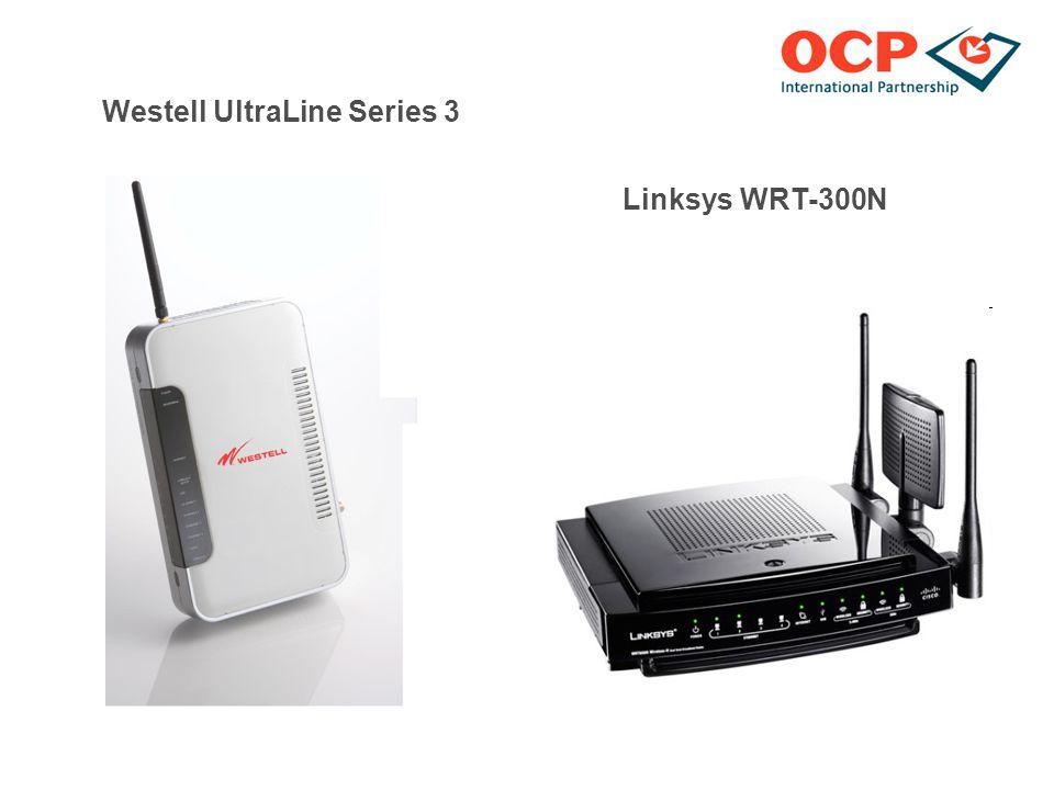 Westell UltraLine Series 3 Linksys WRT-300N