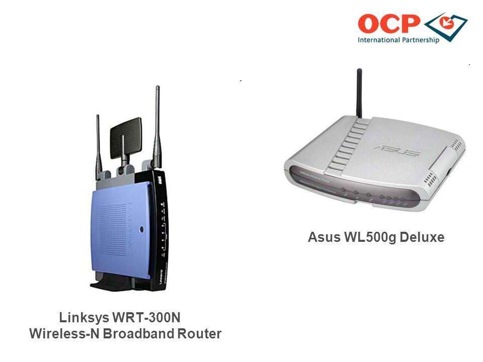 Asus WL500g Deluxe Linksys WRT-300N Wireless-N Broadband Router