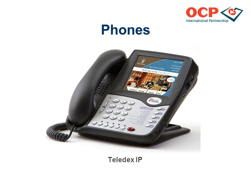 Phones Teledex IP